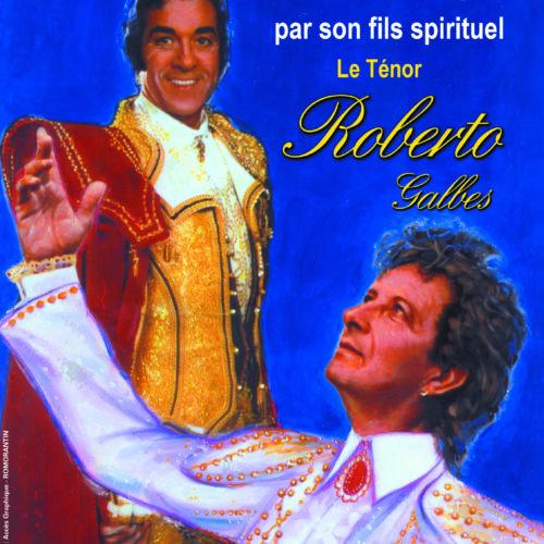 Plaquette opérette Roberto avec Luis Mariano